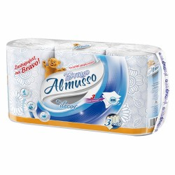 kuchyňské utěrky Almusso Bravo modré 3 vrstvé - 3 ks