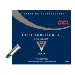Náboj kulový CCI, Schrot, .22LR, 31GR, broky