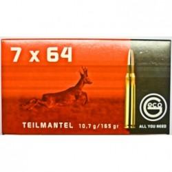 Náboj kulový Geco, Classsic, 7x64, 165GR/ 10,7g, TM