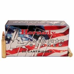 Náboj kulový Hornady, American Gunner, .223 Rem, 55GR, HP