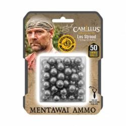 Střely Camillus, pro prak, Carbon Ammo Balls, 50ks v balení