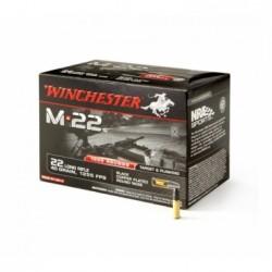Náboj kulový Winchester, M*22, Ráže: .22LR, 40GR, Black CPR
