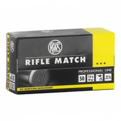 Náboj kulový RWS, Professional Line-Rifle Match, .22LR, 40GR/ 2,6g, Solid