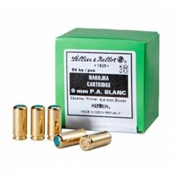 Nábojka Sellier a Bellot, Blanc, 9mm P.A.