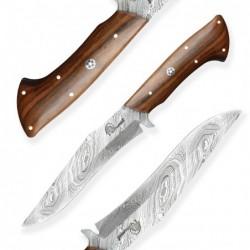 nůž Dellinger Damask Cocobolo Forest