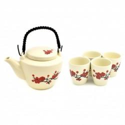 keramická konvička Akai Sakura na čaj 500 ml - 4 šálky