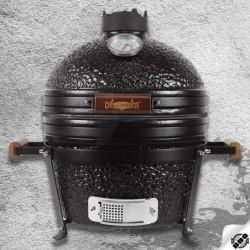 "keramický gril kamado Dellinger Smoke&Fire MINIMAX 16"" černý"