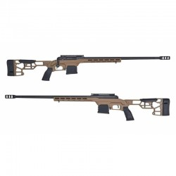 "Puška opak. Savage Arms, Mod: 110 Precision, Ráže: 6,5mm Creedmoor, hl.: 24"", FDE Cerakote"
