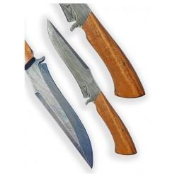 nůž Dellinger Damask LIGNUM VITAE