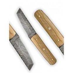 nůž Dellinger Damask miniTanto Olive